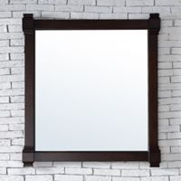 James Martin Furniture Brittany 35-Inch Mirror in Mahogany