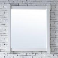 James Martin Furniture Brittany 35-Inch Mirror in Cottage White