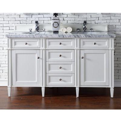 Palazzo 60-Inch Double Bathroom Vanity buy bathroom vanity sets from bed bath & beyond