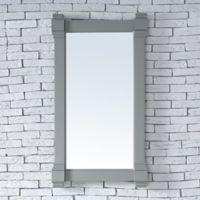 James Martin Furniture Brittany 22-Inch Mirror in Urban Grey