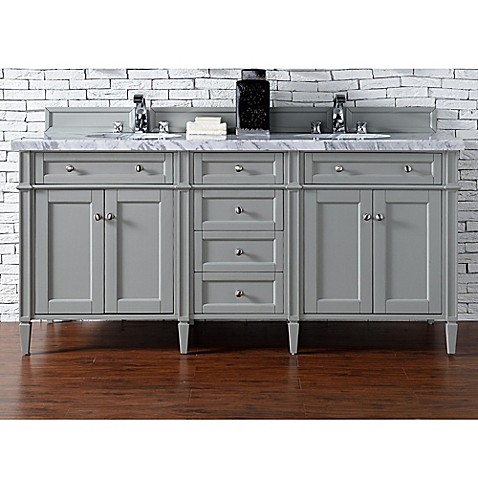 Buy James Martin Furniture Brittany 72 Inch Double Cabinet