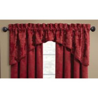 Croscill® Adrianna Window Valance in Red