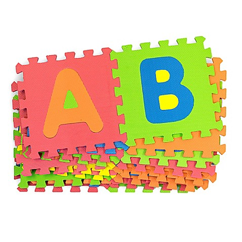 Mota Foam Alphabet Mat Bed Bath Amp Beyond