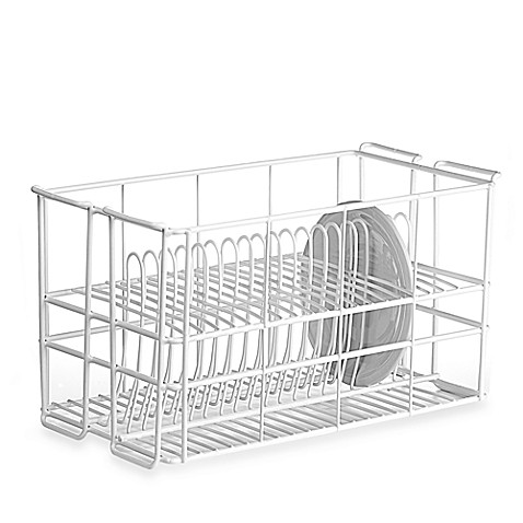 Wire 20 Dinner Plate Rack By Ten Strawberry Street Bed Bath Beyond