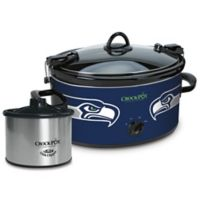 NFL Seattle Seahawks Crock-Pot® Cook & Carry™ Slow Cooker with Little Dipper Warmer