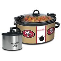 NFL San Francisco 49ers Crock-Pot® Cook & Carry™ Slow Cooker with Little Dipper Warmer