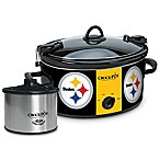 NFL Pittsburgh Steelers Crock-Pot® Cook & Carry™ Slow Cooker with Little Dipper Warmer