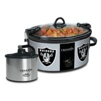 NFL Oakland Raiders Crock-Pot® Cook & Carry™ Slow Cooker with Little Dipper Warmer