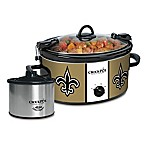NFL New Orleans Saints Crock-Pot® Cook & Carry™ Slow Cooker with Little Dipper Warmer