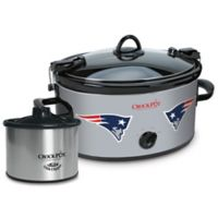 NFL New England Patriots Crock-Pot® Cook & Carry™ Slow Cooker with Little Dipper Warmer