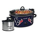 NFL Houston Texans Crock-Pot® Cook & Carry™ Slow Cooker with Little Dipper Warmer