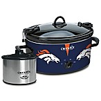 NFL Denver Broncos Crock-Pot® Cook & Carry™ Slow Cooker with Little Dipper Warmer