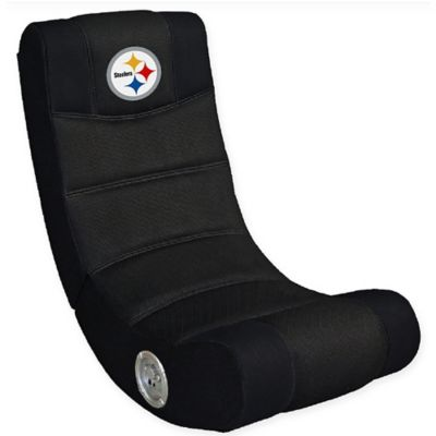 NFL Pittsburgh Steelers Gaming Chair with Bluetooth®  sc 1 st  Bed Bath u0026 Beyond & Buy Video Gaming Chairs from Bed Bath u0026 Beyond