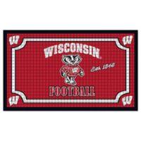 University of Wisconsin Embossed Door Mat