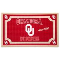 University of Oklahoma Embossed Door Mat