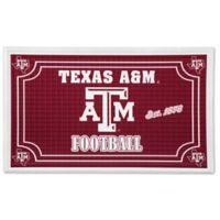 Texas A&M University Embossed Door Mat