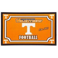University of Tennessee Embossed Door Mat