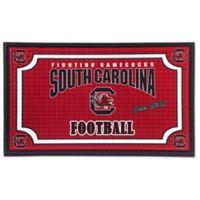University of South Carolina Embossed Door Mat