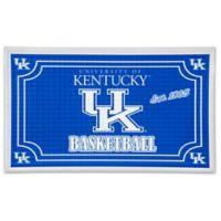 University of Kentucky Embossed Door Mat