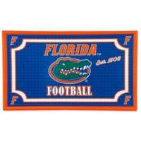 University of Florida Embossed Door Mat