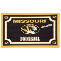University of Missouri Embossed Door Mat