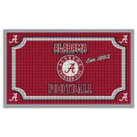 University of Alabama Embossed Door Mat