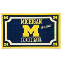 University of Michigan Embossed Door Mat