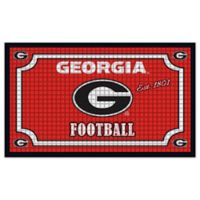 University of Georgia Embossed Door Mat