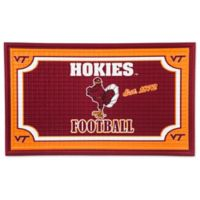 Virginia Tech Embossed Door Mat