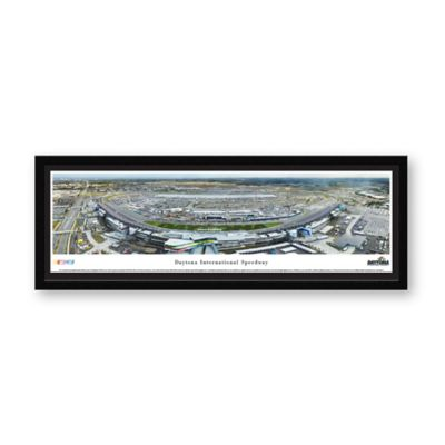 daytona international speedway framed print
