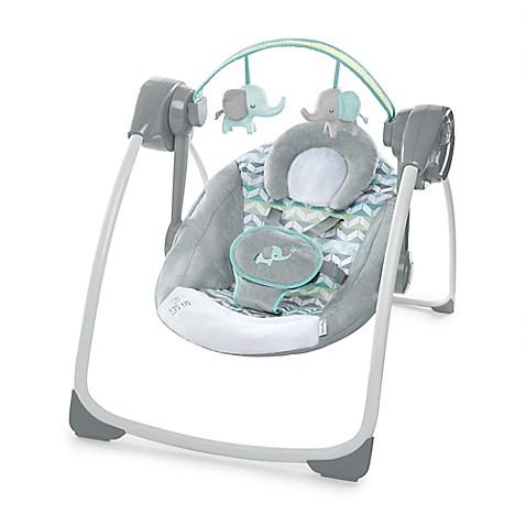 Ingenuity Comfort 2 Go Portable Swing Jungle Journey In