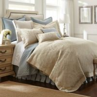 Austin Horn® Classics Abigail Queen Comforter Set in Aqua Blue/Beige