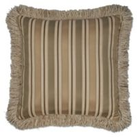 Austin Horn® Classics Cherub Stripe Square Throw Pillow in Beige