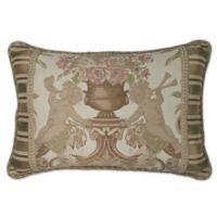 Austin Horn® Classics Cherub Oblong Throw Pillow in Beige