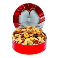 16 oz. Mixed Nuts in a Holiday Tin