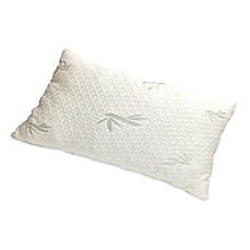 New Domaine Viscose Rayon Shredded Latex Pillow