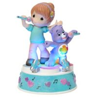 Precious Moments Care Bear Girl with Harmony Bear LED Musical Figurine