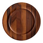 Nambe Skye 13-Inch Wood Charger Plate