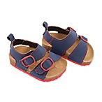 Rising Star™ Size 3-6M Sandal in Navy/Red