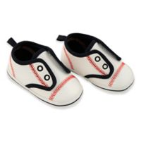Rising Star™ Size 9-12M Baseball Sneaker in White
