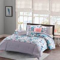 Intelligent Design Delle Twin/Twin XLComforter Set in Blue
