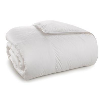 Sharper Image Down Alternative Twin Comforter in White