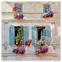 Madame's Flowers Outdoor All-Weather Canvas Wall Art