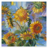 Sunflower Modern Outdoor All-Weather Canvas Wall Art