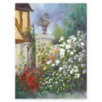 Les Moulin de Chennevieres Outdoor All-Weather Canvas Wall Art