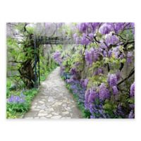 Wisteria Path Outdoor All-Weather Canvas Wall Art