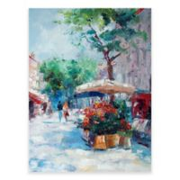 Parisian Stroll Outdoor All-Weather Canvas Wall Art