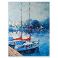 Yacht Club Outdoor All-Weather Canvas Wall Art
