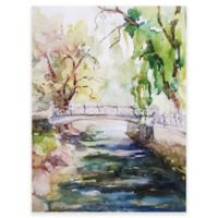 Tranquil Stream Outdoor All-Weather Canvas Wall Art