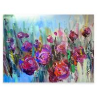 Floral Fusion Outdoor All-Weather Canvas Wall Art
